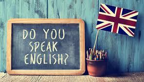 do you speak english natpis
